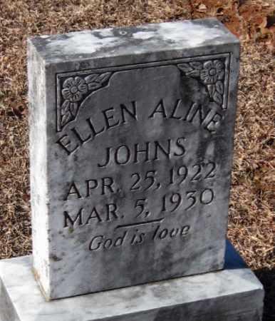 JOHNS, ELLEN ALINE - Crawford County, Arkansas   ELLEN ALINE JOHNS - Arkansas Gravestone Photos