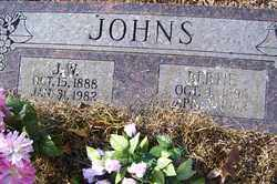JOHNS, J W - Crawford County, Arkansas   J W JOHNS - Arkansas Gravestone Photos