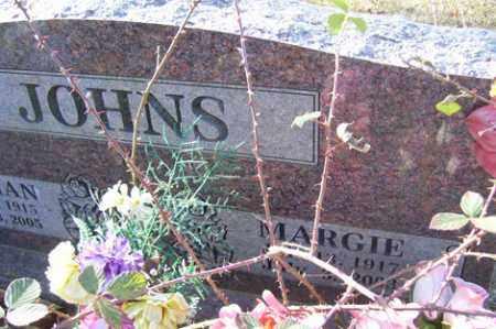 JOHNS, MARGIE - Crawford County, Arkansas | MARGIE JOHNS - Arkansas Gravestone Photos