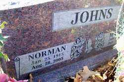 JOHNS, NORMAN - Crawford County, Arkansas | NORMAN JOHNS - Arkansas Gravestone Photos