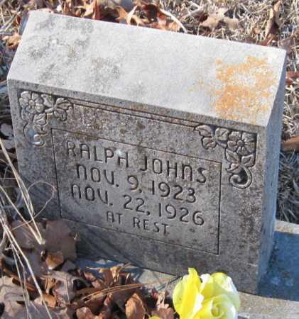 JOHNS, RALPH - Crawford County, Arkansas   RALPH JOHNS - Arkansas Gravestone Photos