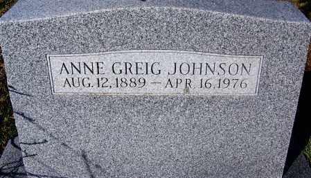 JOHNSON, ANNE - Crawford County, Arkansas | ANNE JOHNSON - Arkansas Gravestone Photos