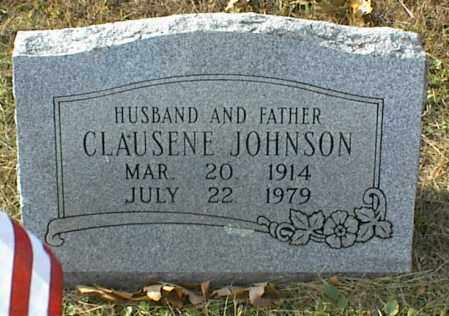 JOHNSON, CLAUSENE - Crawford County, Arkansas | CLAUSENE JOHNSON - Arkansas Gravestone Photos