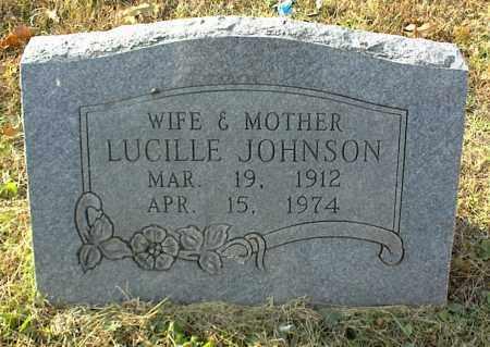JOHNSON, LUCILLE - Crawford County, Arkansas | LUCILLE JOHNSON - Arkansas Gravestone Photos