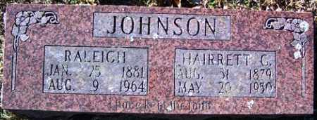 JOHNSON, RALEIGH - Crawford County, Arkansas | RALEIGH JOHNSON - Arkansas Gravestone Photos