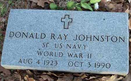 JOHNSTON  (VETERAN WWII), DONALD RAY - Crawford County, Arkansas | DONALD RAY JOHNSTON  (VETERAN WWII) - Arkansas Gravestone Photos