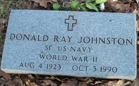 JOHNSTON  (VETERAN WWII), DONALD RAY - Crawford County, Arkansas | DONALD RAY JOHNSTON  (VETERAN WWII) - Arkansas Gravestone Photos