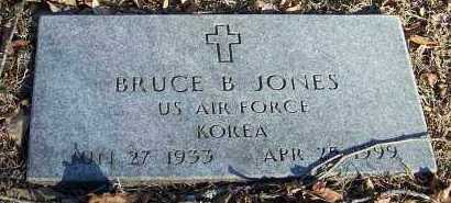 JONES (VETERAN KOR), BRUCE B. - Crawford County, Arkansas | BRUCE B. JONES (VETERAN KOR) - Arkansas Gravestone Photos