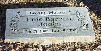 BARRON JONES, LOIS - Crawford County, Arkansas | LOIS BARRON JONES - Arkansas Gravestone Photos