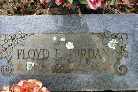 JORDAN, FLOYD E - Crawford County, Arkansas   FLOYD E JORDAN - Arkansas Gravestone Photos