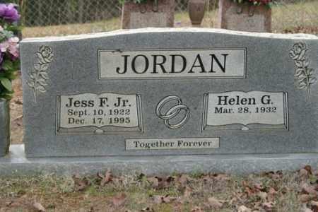 JORDAN, JR, JESS F. - Crawford County, Arkansas   JESS F. JORDAN, JR - Arkansas Gravestone Photos