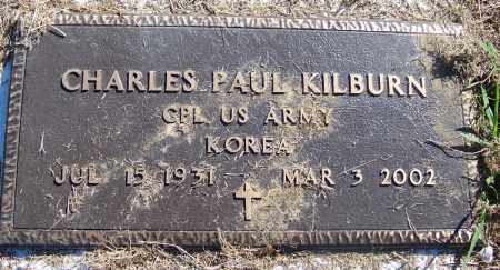 KILBURN (VETERAN KOR), CHARLES PAUL - Crawford County, Arkansas   CHARLES PAUL KILBURN (VETERAN KOR) - Arkansas Gravestone Photos
