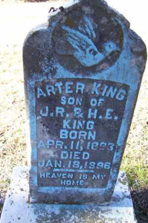KING, ARTER - Crawford County, Arkansas   ARTER KING - Arkansas Gravestone Photos