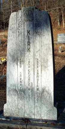 KIRK, GEORGE W - Crawford County, Arkansas | GEORGE W KIRK - Arkansas Gravestone Photos