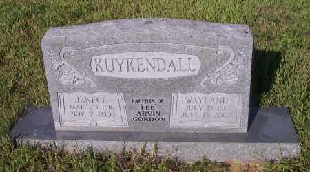 KUYKENDALL, JENECE - Crawford County, Arkansas | JENECE KUYKENDALL - Arkansas Gravestone Photos