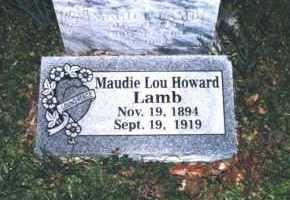 HOWARD LAMB, MAUDIE LOU - Crawford County, Arkansas | MAUDIE LOU HOWARD LAMB - Arkansas Gravestone Photos
