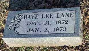 LANE, DAVE LEE - Crawford County, Arkansas   DAVE LEE LANE - Arkansas Gravestone Photos