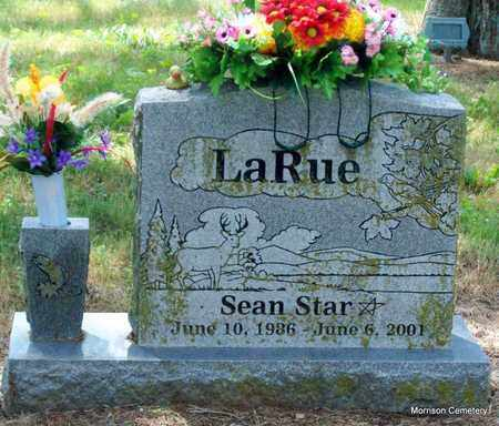LARUE, SEAN STAR - Crawford County, Arkansas | SEAN STAR LARUE - Arkansas Gravestone Photos