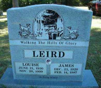 LEIRD, LOUISE - Crawford County, Arkansas   LOUISE LEIRD - Arkansas Gravestone Photos