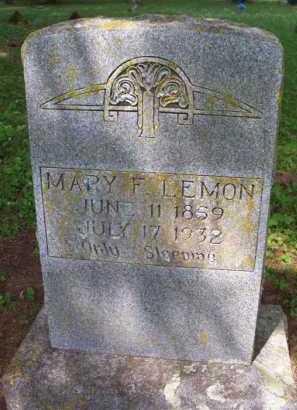 LEMON, MARY F - Crawford County, Arkansas | MARY F LEMON - Arkansas Gravestone Photos