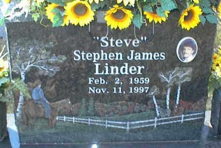 LINDER, STEPHEN JAMES - Crawford County, Arkansas | STEPHEN JAMES LINDER - Arkansas Gravestone Photos
