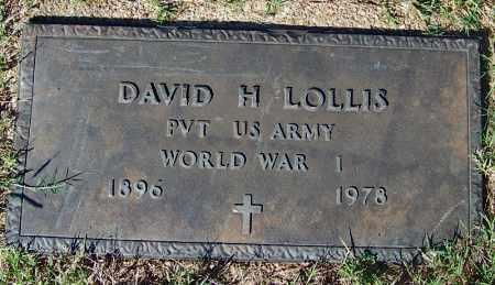 LOLLIS (VETERAN WWI), DAVID HOMER - Crawford County, Arkansas   DAVID HOMER LOLLIS (VETERAN WWI) - Arkansas Gravestone Photos
