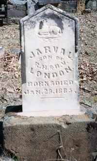 LONDON, JARVAL - Crawford County, Arkansas | JARVAL LONDON - Arkansas Gravestone Photos