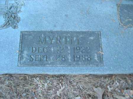 MANES, MYRTLE - Crawford County, Arkansas | MYRTLE MANES - Arkansas Gravestone Photos