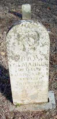 MANKIN, SARAH H. - Crawford County, Arkansas | SARAH H. MANKIN - Arkansas Gravestone Photos