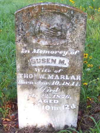 MARLAR, SUSEN M. - Crawford County, Arkansas   SUSEN M. MARLAR - Arkansas Gravestone Photos
