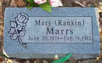 MARRS, MARY - Crawford County, Arkansas | MARY MARRS - Arkansas Gravestone Photos