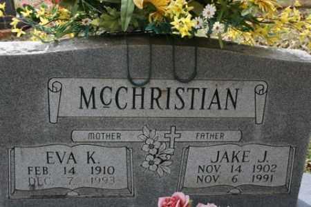 MCCHRISTIAN, JAKE J - Crawford County, Arkansas   JAKE J MCCHRISTIAN - Arkansas Gravestone Photos