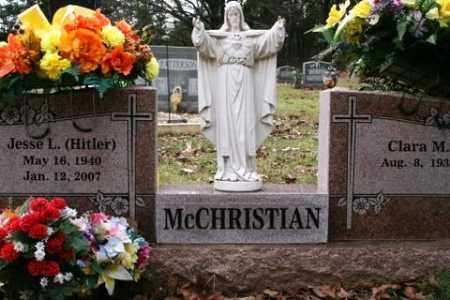 "MCCHRISTIAN, JESSE L ""HITLER"" - Crawford County, Arkansas | JESSE L ""HITLER"" MCCHRISTIAN - Arkansas Gravestone Photos"