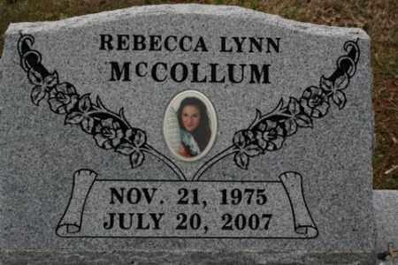 MCCOLLUM, REBECCA LYNN - Crawford County, Arkansas | REBECCA LYNN MCCOLLUM - Arkansas Gravestone Photos