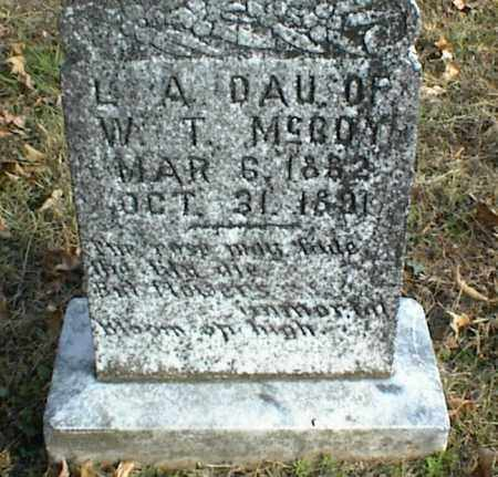 MCCOY, L  A - Crawford County, Arkansas | L  A MCCOY - Arkansas Gravestone Photos
