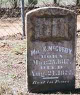 MCCURDY, WILLIAM KING - Crawford County, Arkansas | WILLIAM KING MCCURDY - Arkansas Gravestone Photos