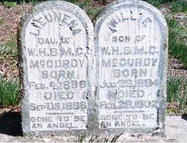 MCCURDY, WILLIE - Crawford County, Arkansas | WILLIE MCCURDY - Arkansas Gravestone Photos