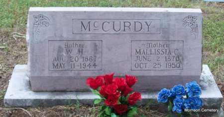 MCCURDY, MALLISSA CALDONIA - Crawford County, Arkansas   MALLISSA CALDONIA MCCURDY - Arkansas Gravestone Photos