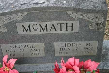 MCMATH, GEORGE - Crawford County, Arkansas   GEORGE MCMATH - Arkansas Gravestone Photos