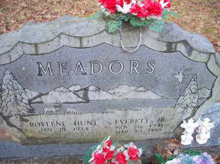 MEADORS, JR., EVERETT - Crawford County, Arkansas   EVERETT MEADORS, JR. - Arkansas Gravestone Photos
