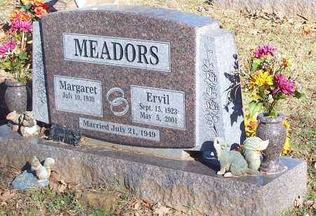MEADORS, ERVIL - Crawford County, Arkansas | ERVIL MEADORS - Arkansas Gravestone Photos