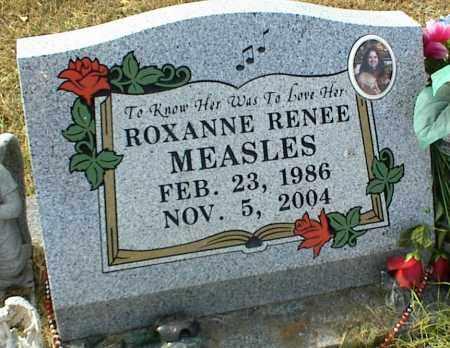 MEASLES, ROXANNE RENEE - Crawford County, Arkansas | ROXANNE RENEE MEASLES - Arkansas Gravestone Photos