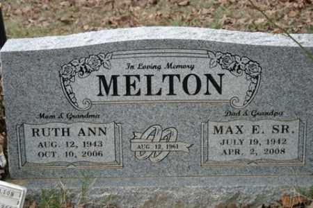 MELTON, RUTH ANN - Crawford County, Arkansas   RUTH ANN MELTON - Arkansas Gravestone Photos