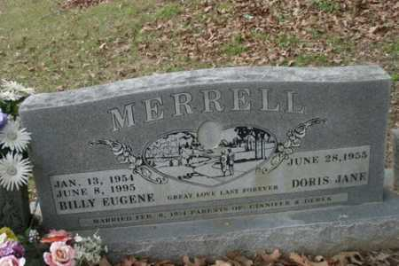 MERRILL, BILLY EUGENE - Crawford County, Arkansas | BILLY EUGENE MERRILL - Arkansas Gravestone Photos