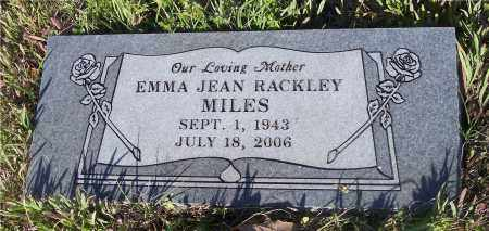 MILES, EMMA JEAN - Crawford County, Arkansas   EMMA JEAN MILES - Arkansas Gravestone Photos