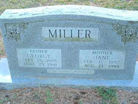 MILLER, JANE - Crawford County, Arkansas | JANE MILLER - Arkansas Gravestone Photos