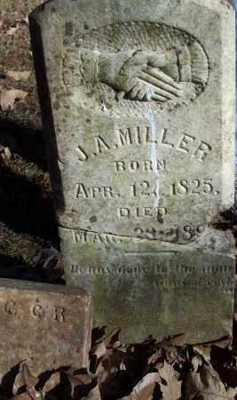 MILLER, J A - Crawford County, Arkansas   J A MILLER - Arkansas Gravestone Photos