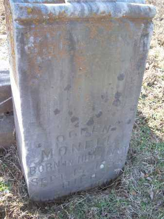 MONELL, OGDEN - Crawford County, Arkansas   OGDEN MONELL - Arkansas Gravestone Photos