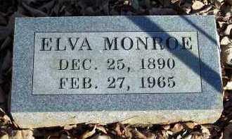 MONROE, ELVA - Crawford County, Arkansas | ELVA MONROE - Arkansas Gravestone Photos