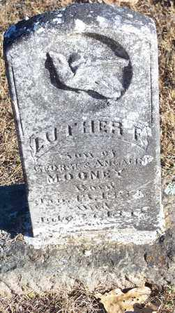 MOONEY, LUTHER F. - Crawford County, Arkansas | LUTHER F. MOONEY - Arkansas Gravestone Photos